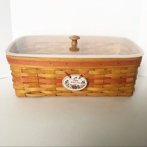 Longaberger 1996 Mother's Day Basket with insert